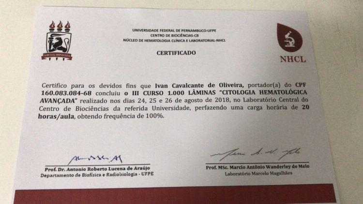 certificado lab ivan